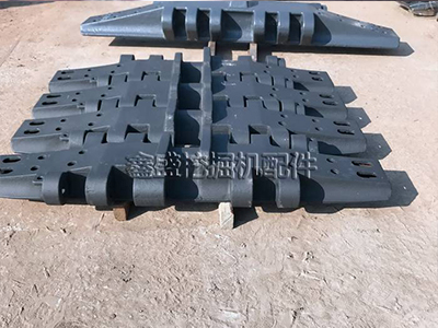 徐工4000吨履带板厂家_抚顺市鑫盛挖掘机配件履带板价钱怎么样
