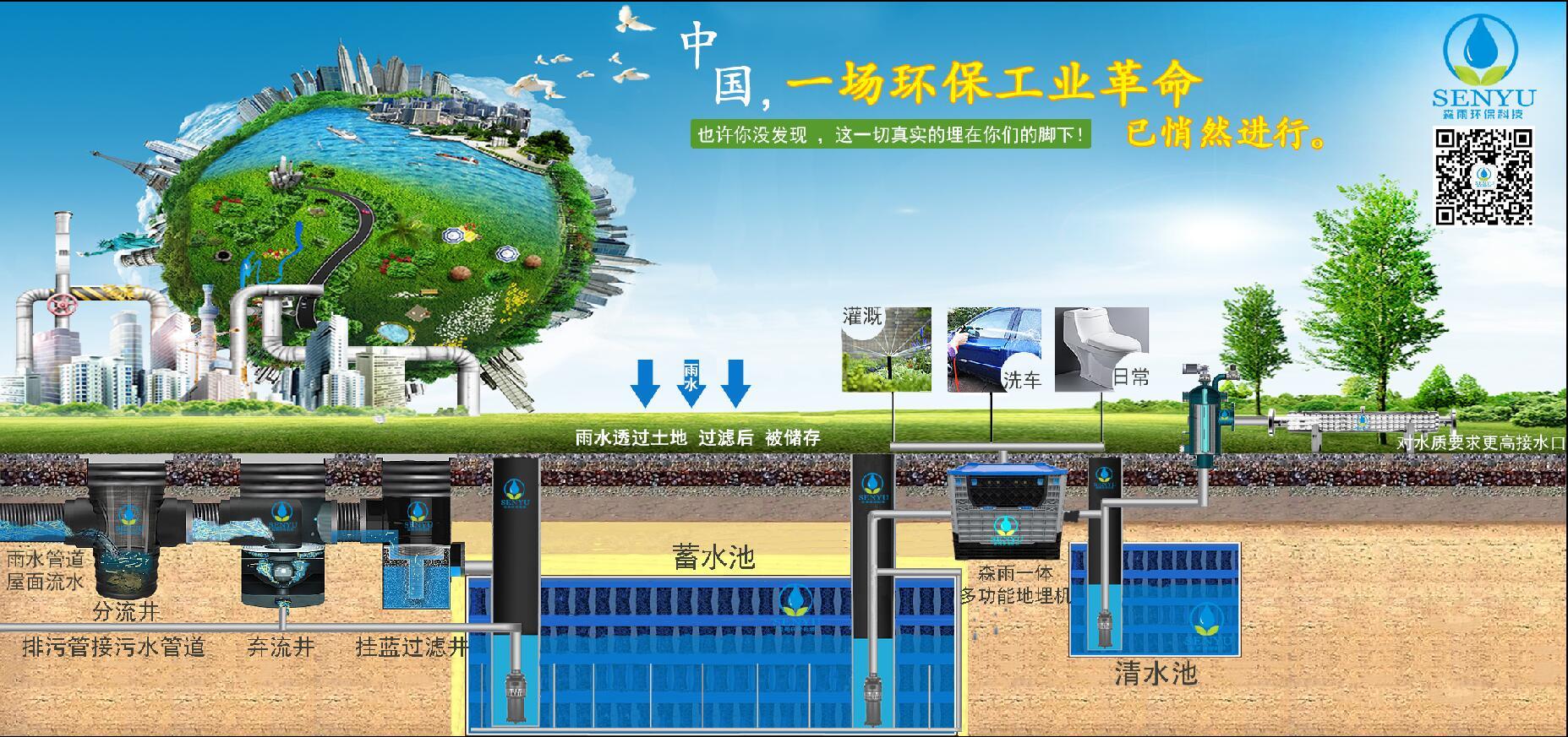 广东雨水收集系统