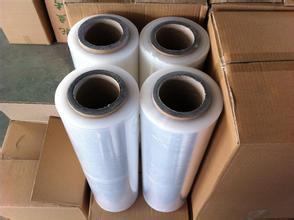 厂家直销缠绕膜PE缠绕膜宽25cm净重5斤批发