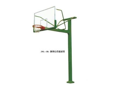 甘肃制作精巧的篮球架供应 白银篮球架