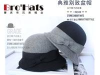 韩版羊毛帽厂家|好看的针织羊毛礼帽供应