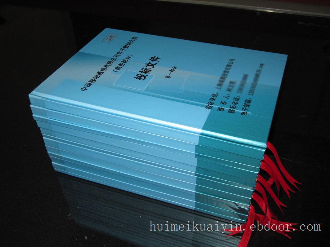 专业的厦门精致投标文件装订资讯-画册印刷价钱如何