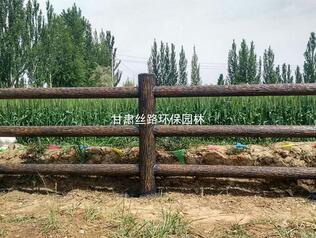 宁夏仿木护栏批发-兰州价格实惠的仿木护栏哪里有供应