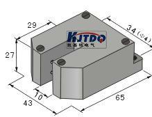 南京哪里有供应耐用的KJT-FU10A槽型光电开关|专业的KJT-FU10A槽型光电开关