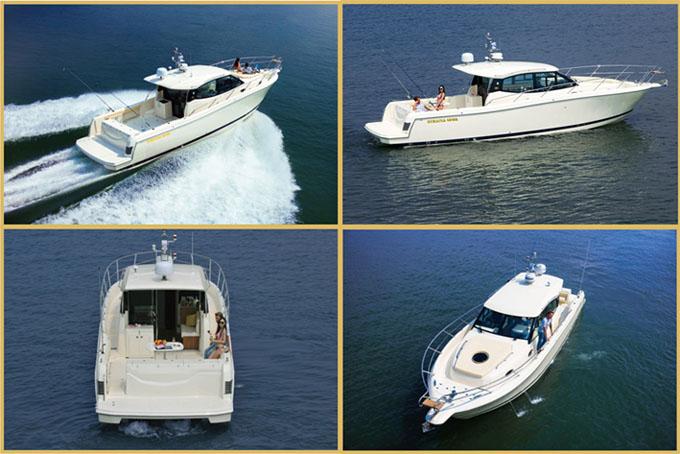 供应佛山性价比高的oceania 45WA钓鱼艇 山东豪华钓鱼艇
