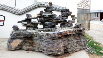 风景石产地-供应河南实用的千层石