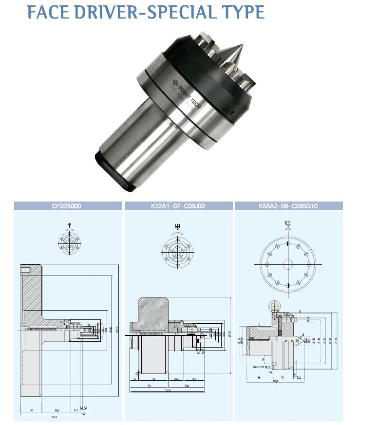 杭州特晟切削工具——专业的法兰盘式端面驱动顶针提供商_法兰盘式端面驱动