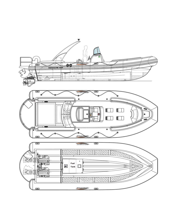救生艇-供應佛山物超所值的RHIB900公安巡邏搜救艇