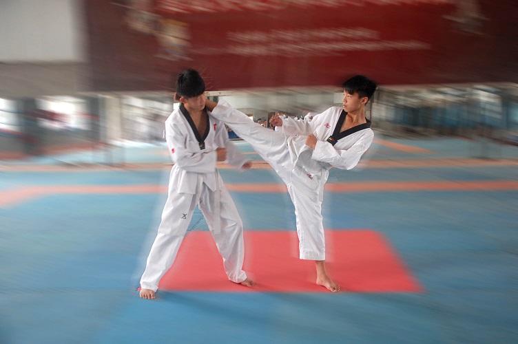 跆拳道培训学校价位-有口碑的跆拳道培训大名少林武院提供