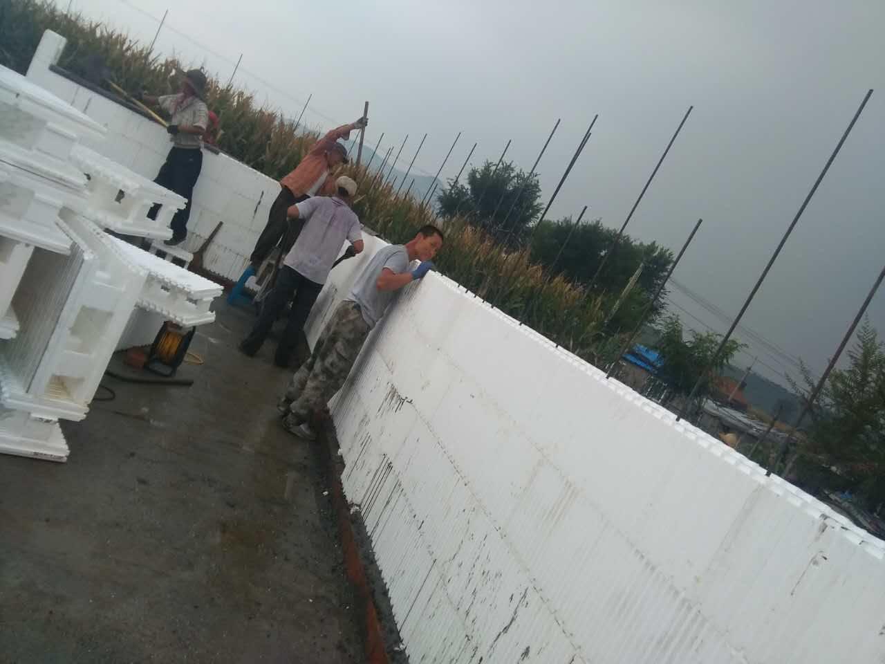 超低能耗房墙体材料-EPS模块-海容模块