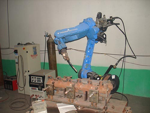 全自动气体保护焊机器人解决方案-潍坊哪里有专业的工业气体保护焊机器人公司