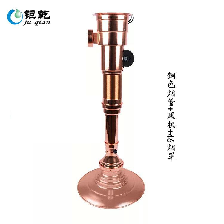 哪里有销售优良的带风机伸缩排烟管,代理韩式烧烤炉