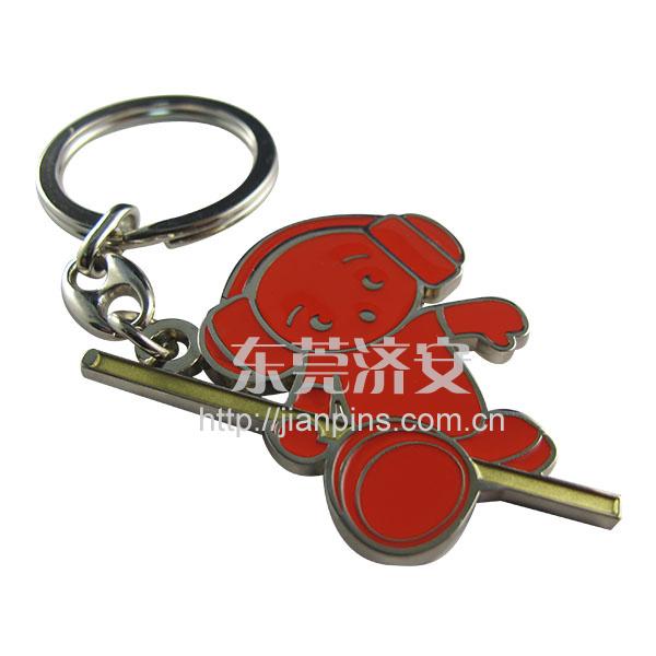新颖五金锁匙扣出售 广告钥匙扣定制厂家