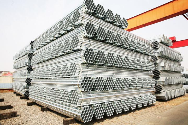 威海友发供应优质方矩管,螺旋管道,镀锌圆钢