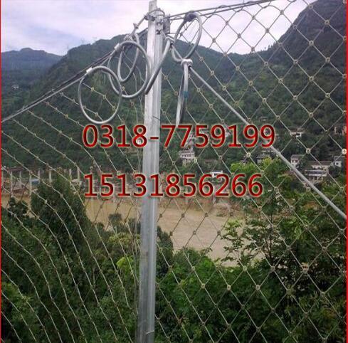 路基邊坡防護柔性被動網-15131856266國標被動防落網