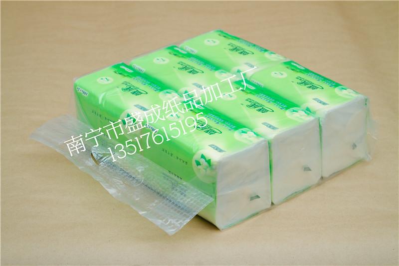 火热畅销的广告纸抽产品信息  广西餐巾纸生产厂家