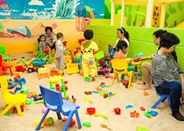 室内儿童乐园装修设备