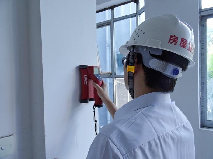 墙体裂缝鉴定找广东省机电建筑设计院