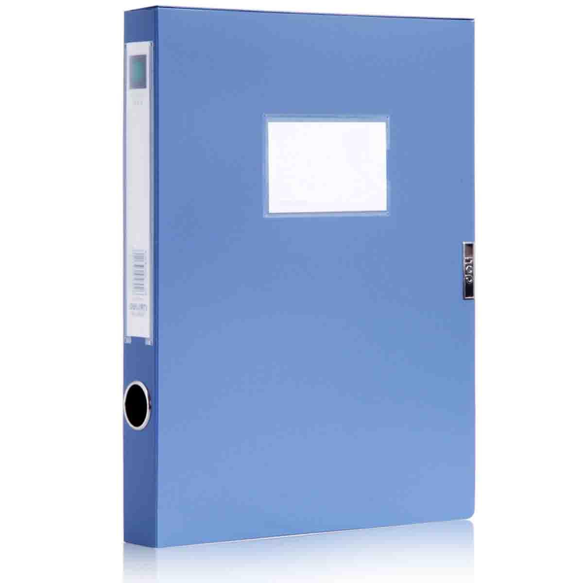 代理石家庄得力用品 优质档案盒厂家直销