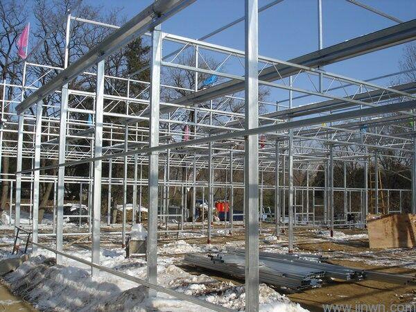 寿光玻璃温室大棚|智能温室大棚-佰辰温室材料厂家