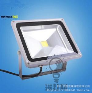 成都规模大的LED投光灯厂家推荐-LED投光灯户外灯50W招牌灯室外灯泛光广告灯厂房灯代理加盟