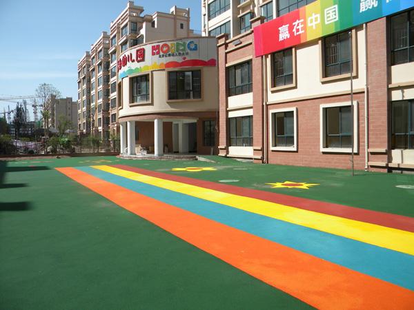 甘肃绿色环保材料-兰州三番建材具有口碑的学校体育场出售