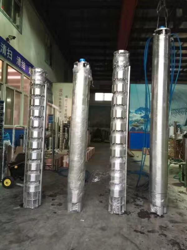 天津甘泉jing用潜水泵 150QJ不锈钢潜水泵