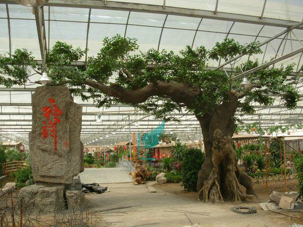 【視覺盛宴】仿真動植物+紀念仿真樹+仿真樹景觀——施工