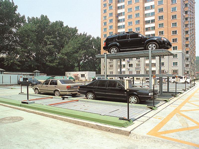 推荐上海品质好的简易升降类停车设备——立体停车设备设计图