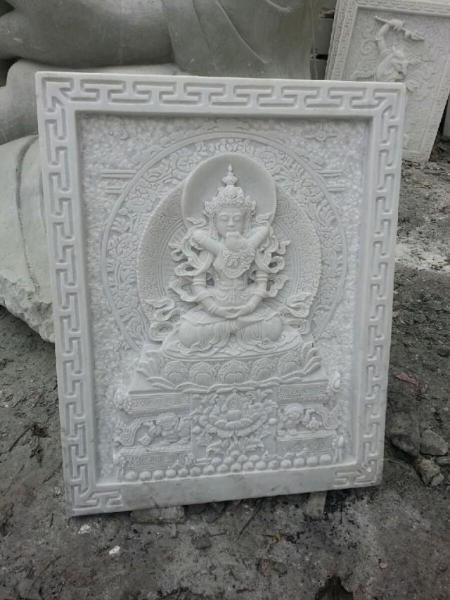 天津汉白玉板材-好用的汉白玉浮雕当选万顺石材