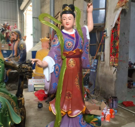 福建 的雷公电母寺庙佛像神像菩萨直销佛教宗教用品供应,优质的雕塑