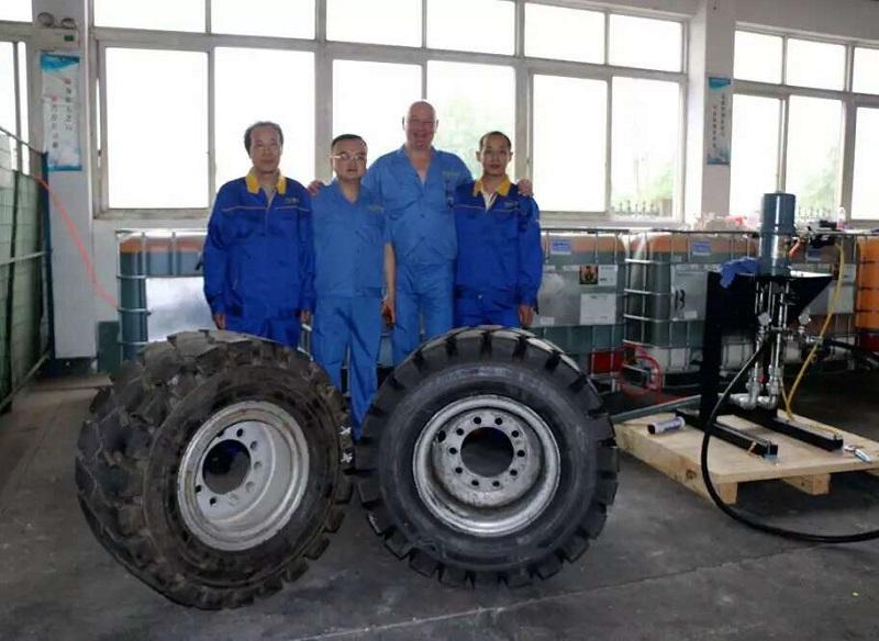 厂家直销的实心轮胎 优尼威实心轮胎上哪买划算