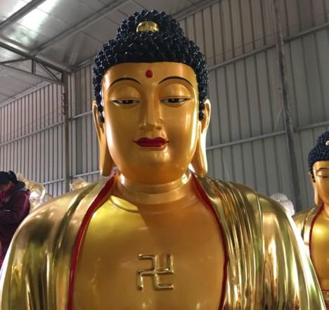 三寶佛釋迦牟尼佛阿彌陀佛藥師佛-精致的三寶佛供應