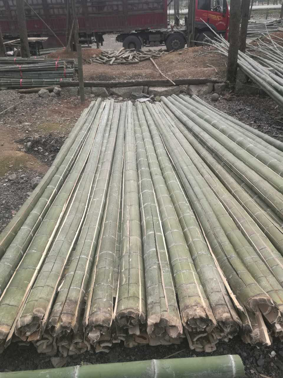 菜架竹厂家|哪里能买到好的天然竹片