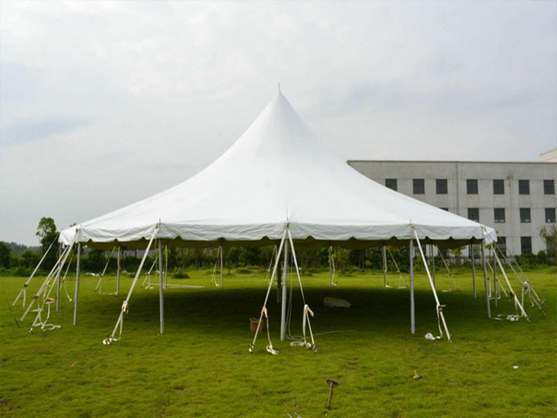 户外篷房图片-滁州销量好的尖顶篷房