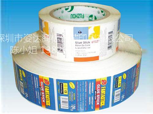 定制不干胶标签|深圳优良的轮转机标签供应