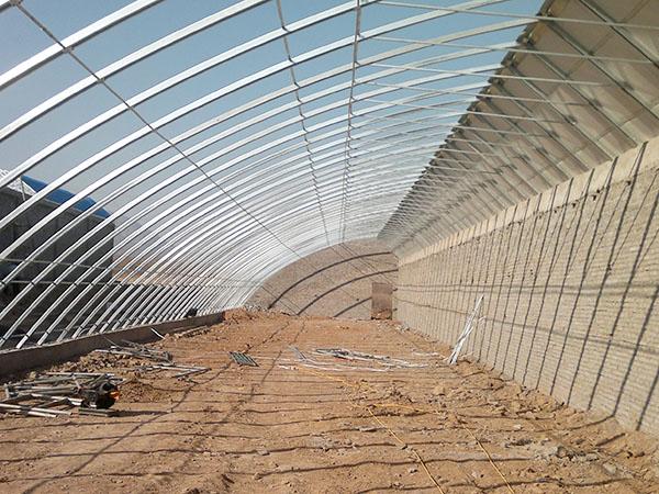 冬暖式日光温室大棚@瑞科温室-冬暖式日光温室大棚建造