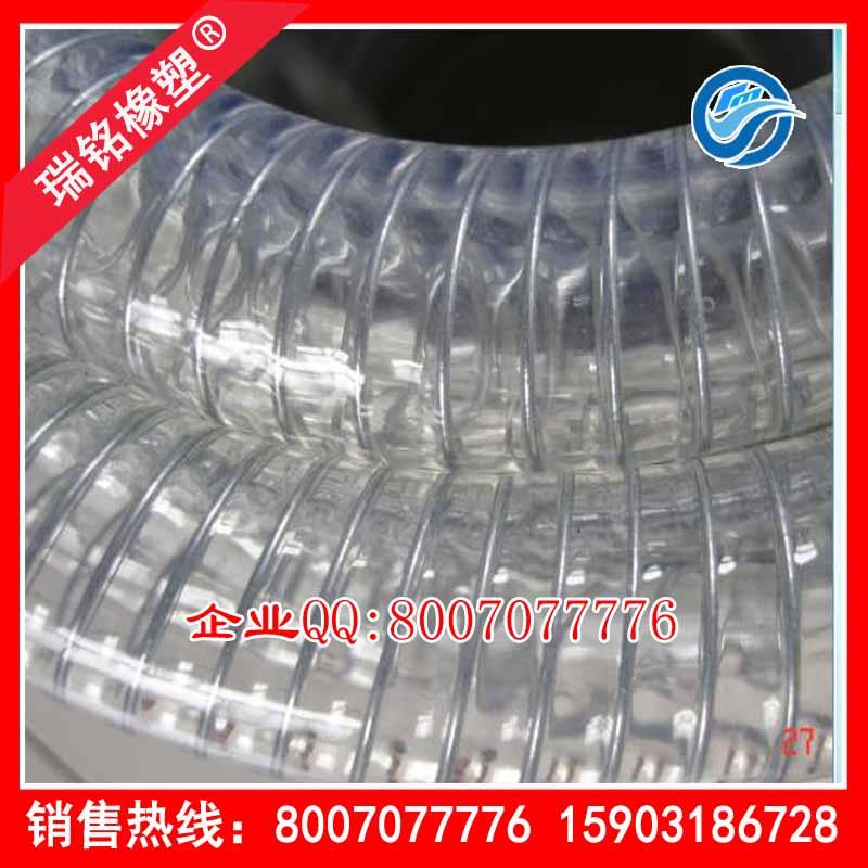 衡水瑞铭橡塑公司供应合格的PU钢丝管_供应PU钢丝管