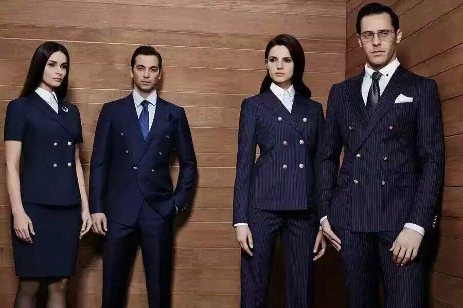 河南新形象服饰提供有品质的西服高端私人定制服务_邮政服装