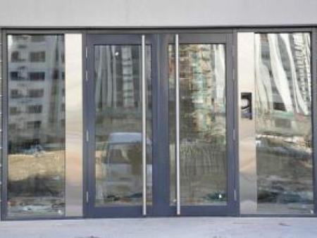 西安玻璃门厂|买好的西安玻璃门就来鑫华玻璃