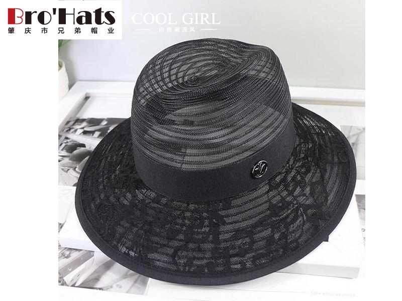 英伦时尚爵士帽-想要买草帽就来兄弟帽业