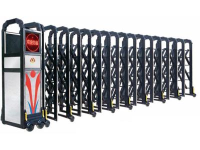 永新价格合理的电动伸缩门【供应】_专业的自动伸缩门