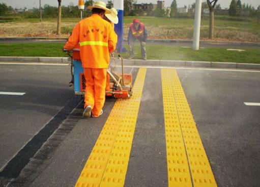兰州标线施工 想买优惠的热熔标线,就来兰州熙达交通设施