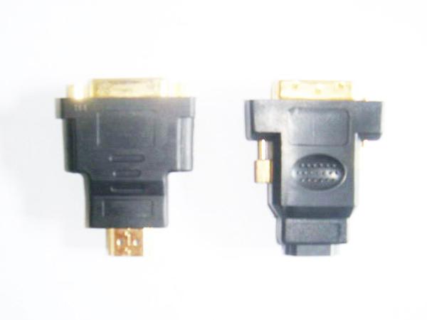 HDMITODVI转接头制造-广东新款HDMI-TO DVI 转接头批发