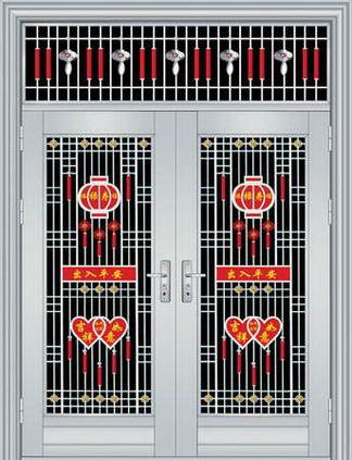 不锈钢门批发-信誉好的不锈钢对开门供应商-当属振宏门业