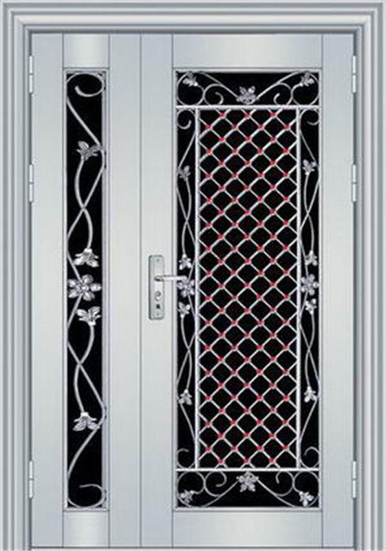 佛山不锈钢门-买划算的不锈钢子母门-就来振宏门业