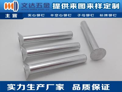 半空心鋁鉚釘-專業的鋁鉚釘供應商
