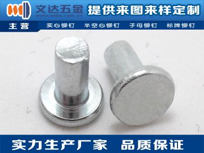 【廠家推薦】質量好的鐵鉚釘供應商,半圓頭鐵鉚釘