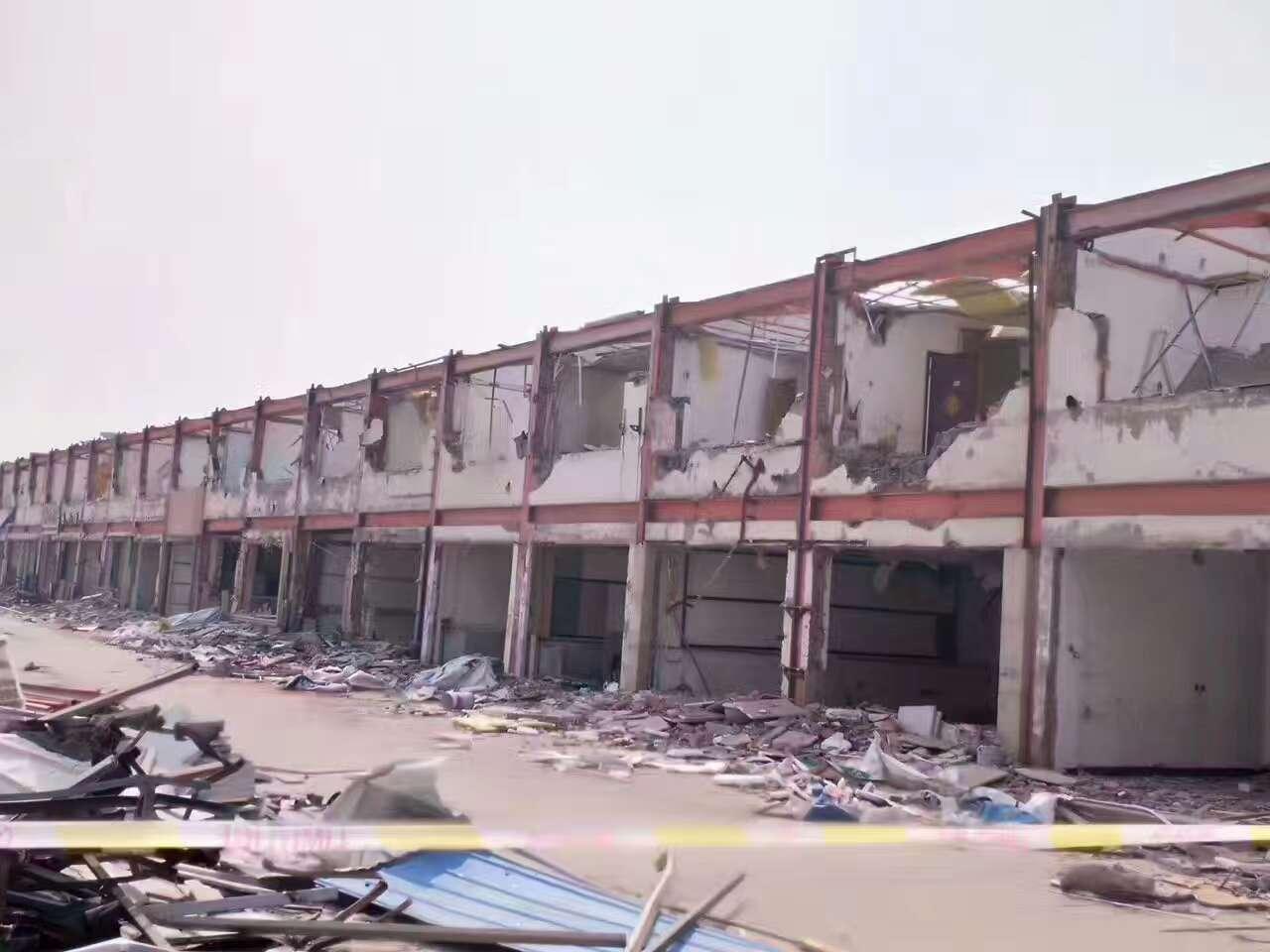 出售二手钢结构厂房报价-二层门市钢构房价格