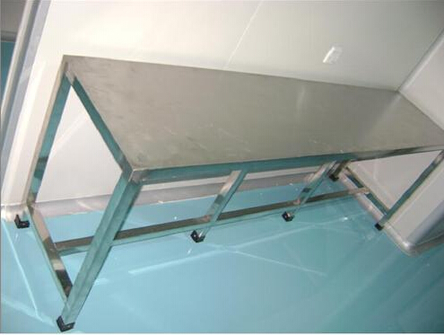 出售广东质量好的不锈钢简易工作台 切配台